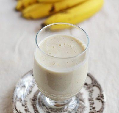 Budyń jaglano – bananowy