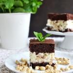 Ciasto z ryżem preparowanym i białą czekoladą