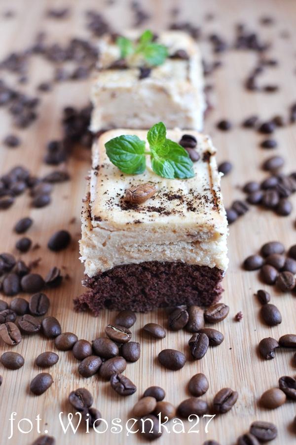 Ciasto kawowo chałwowe