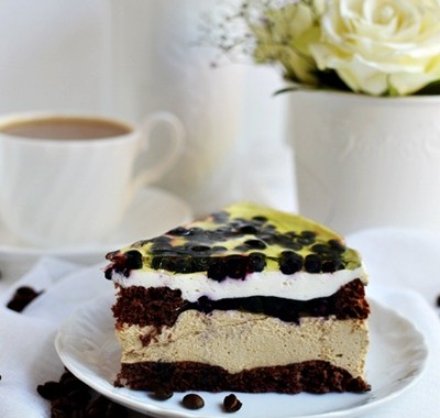 Ciasto kawowe z borówką