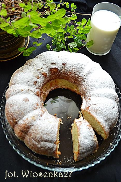Ciasto waniliowe na ricottcie