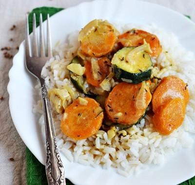 Letnie curry warzywne
