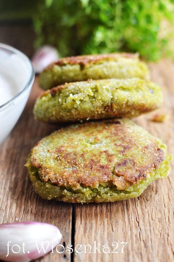 Falafelel z zielonego groszku