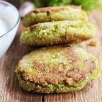 Falafele z zielonego groszku