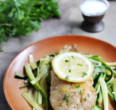 Kurczak cytrynowy z parmezanem