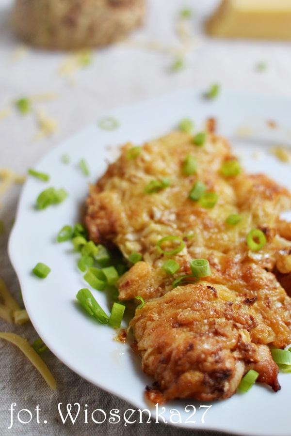 Filet kurczaka pod selerową pierzynką