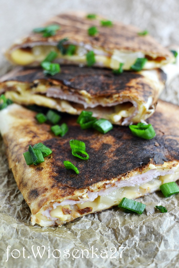Hawajskie quesadillas