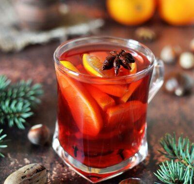 Zimowa herbata świąteczna