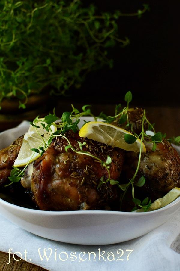 Kurczak ziołowo – cytrynowy