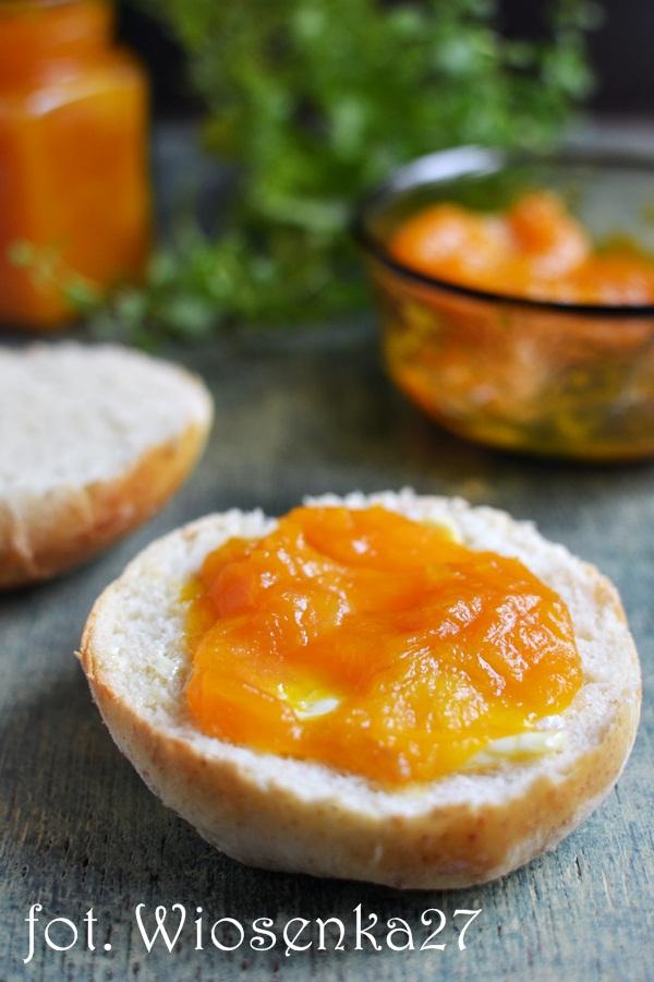 Marmolada dyniowa z pomarańczą i imbirem