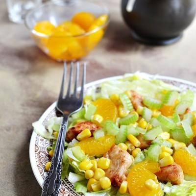 Sałatka z mandarynkami