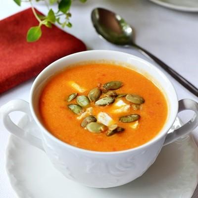 Zupa kremowa  z papryki