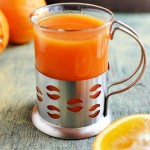 Zupa marchewkowo - pomarańczowa