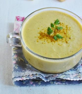 Zupa kremowa z białych szparagów